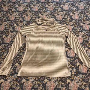 GapFit striped pullover
